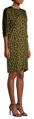 Escada Sport Cheetah Print Dress