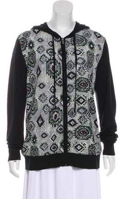 Galliano Printed Wool Jacket w/ Tags