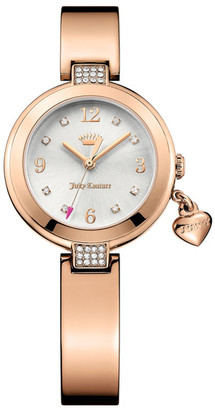 Juicy Couture Women's Sienna Crystal Bangle Watch $235 thestylecure.com