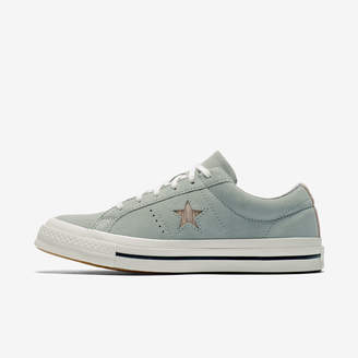 Nike Converse One Star Precious Metal Suede Low Top Unisex Shoe