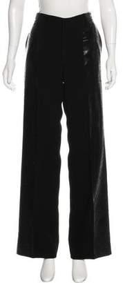 Jean Paul Gaultier High-Rise Wide Leg Pants