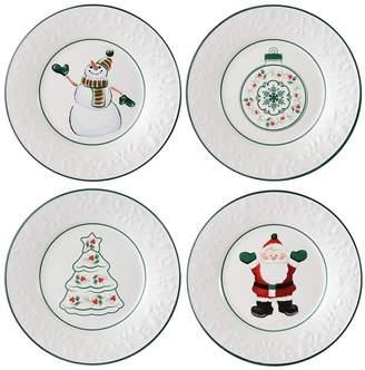 Pfaltzgraff Winterberry 4-pc. Salad Plate Set