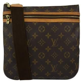 Louis Vuitton District cloth satchel