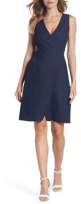 Ali & Jay San Vicente Strolling Denim Wrap Dress