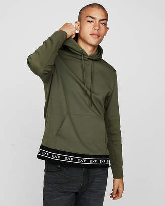 Express Double Knit Exp Hem Hoodie