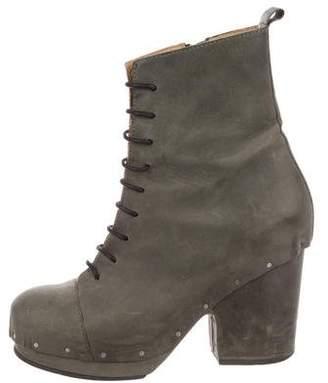 Acne Studios Platform Lace-Up Boots