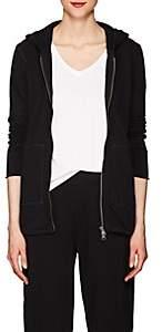 ATM Anthony Thomas Melillo Women's Cotton Terry Zip-Front Hoodie - Black