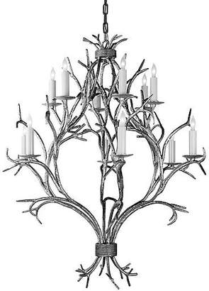 Visual Comfort & Co. Branch Open Chandelier - Old White