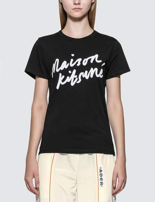 MAISON KITSUNÉ Handwriting T-shirt