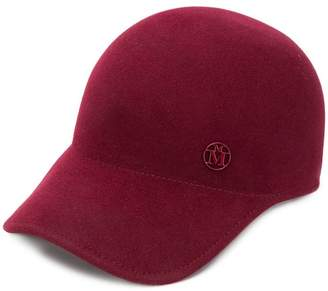 Maison Michel logo plaque baseball cap