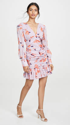 Nicholas Gathered Frill Dress