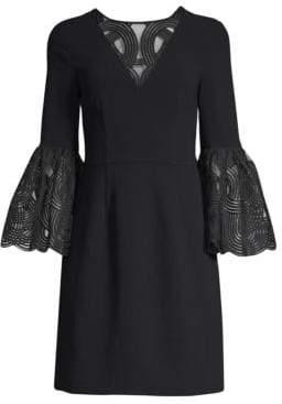 Trina Turk Luciana Bell Sleeve Dress