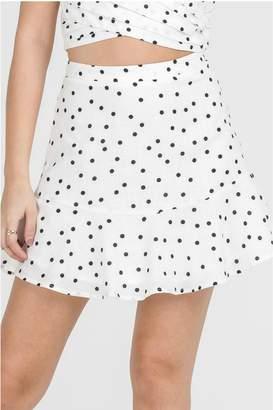 Lush Polka Dot Skirt