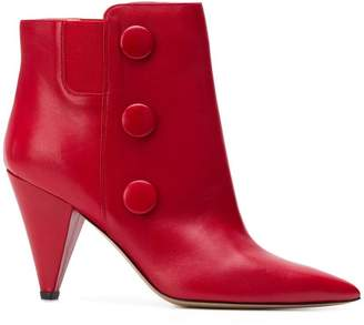 Fabio Rusconi floral ankle boots