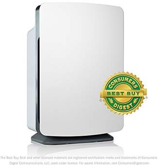 Alen BreatheSmart Customizable Air Purifier with HEPA-Pure Filter for Allergies and Dust (White