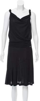 Galliano Draped Midi Dress w/ Tags