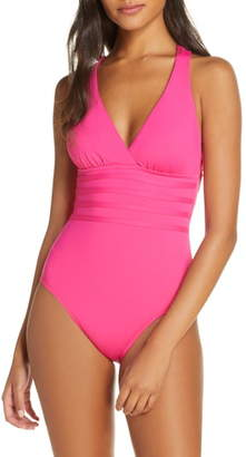 La Blanca Island Goddess One-Piece Swimsuit
