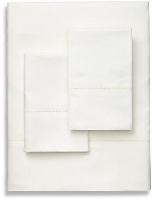 Frette Lux Percale Ivory Sheet Set