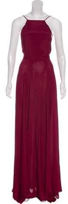 Reformation Open Back Sleeveless Maxi Dress