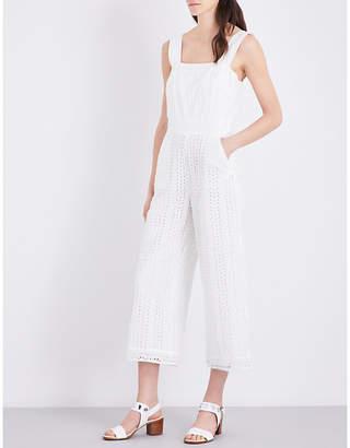 Claudie Pierlot Jersey cotton jumpsuit