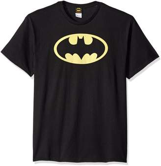 Batman DC Comics Classic Logo Superhero Adult T-Shirt Tee