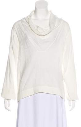 Palmer Harding palmer//harding Long Sleeve Cowl Neck Top