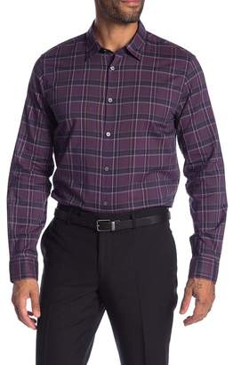 John Varvatos Mayfield Slim Fit Point Collar Shirt