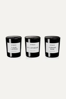 Byredo La Sélection Violette Scented Candles, 3 X 70g - one size
