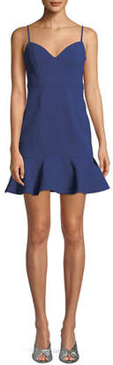 LIKELY Lillie Sleeveless Flounce Mini Dress