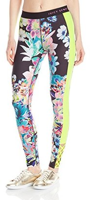 Juicy Couture Black Label Women's Compression Legging $148 thestylecure.com