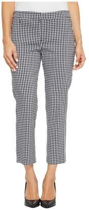 Lauren Ralph Lauren Petite Gingham Skinny Stretch Pants Women's Casual Pants
