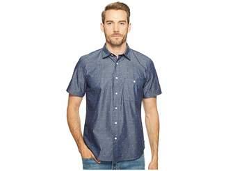 7 For All Mankind Short Sleeve Mini Bikini Print Shirt Men's Clothing