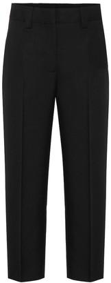 Acne Studios Wool-blend twill straight pants