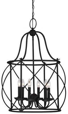 Co Darby Home Cottingham 6-Light Foyer Lantern Pendant