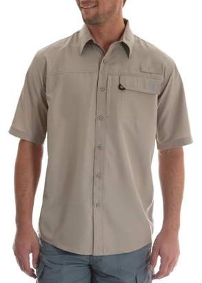 Wrangler Big Men's Short Sleeve One Pocket Utility Shirt