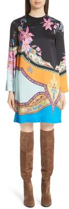 Etro Lily Print Shift Dress