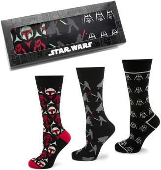Cufflinks Inc. Cufflinks, Inc. 'Empire Strikes Back' 3-Pack Socks