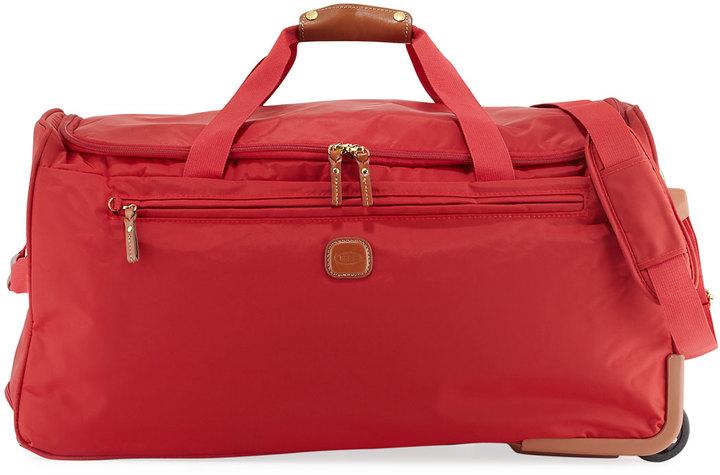 Bric'sBric's X-Travel Rolling Duffle Bag, Red