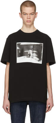 Calvin Klein Black Electric Chair Pocket T-Shirt