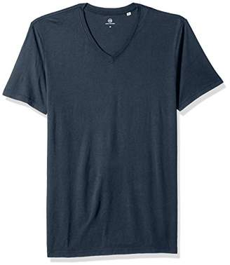 AG Adriano Goldschmied Men's Bryce Short Sleeve Vee Neck Tee