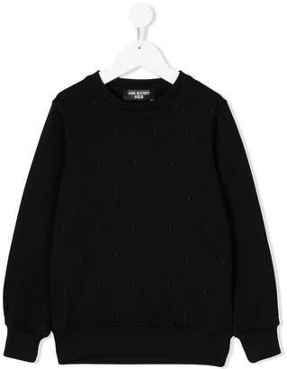 Neil Barrett Kids classic long-sleeve sweater