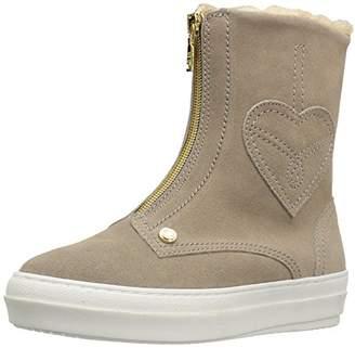 Love Moschino Women's Suede Boot Fashion Sneaker