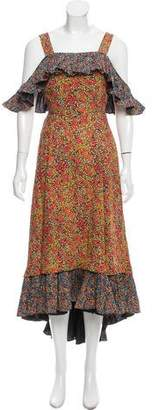 Philosophy di Lorenzo Serafini Floral Print Maxi Dress w/ Tags
