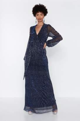 Nasty Gal Night Sky Maxi Dress