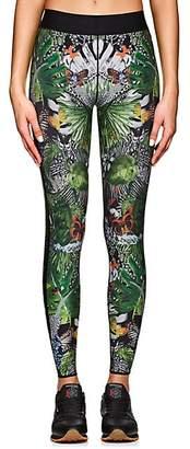 Ultracor Women's Jungle-Print Sprinter Leggings - Green