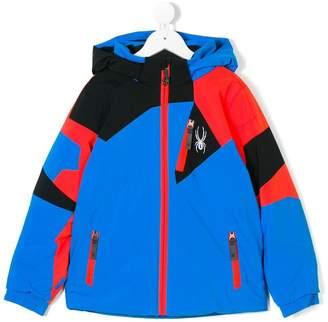 Spyder hooded padded jacket