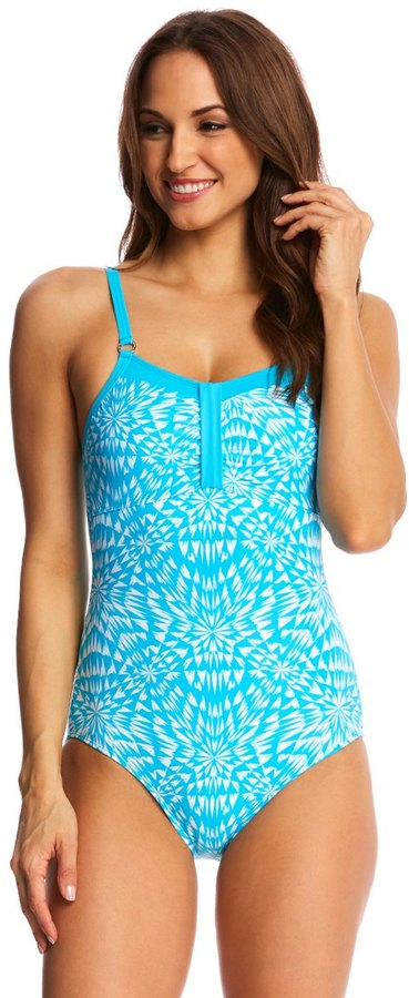 Amoena Mastectomy Hawaii One Piece Swimsuit (A/B/C/D Cup) 8143576