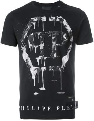 Philipp Plein Men's Mtk1887pjy002n0201 Cotton T-Shirt