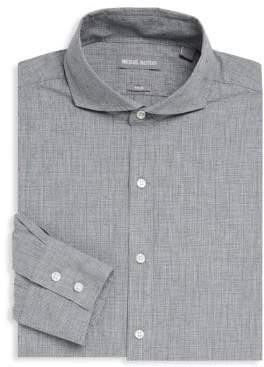 Michael Bastian Textured Linen Dress Shirt