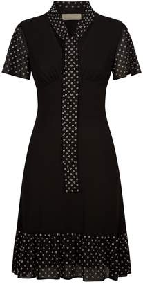 MICHAEL Michael Kors Eyelet Embellished Mini Dress